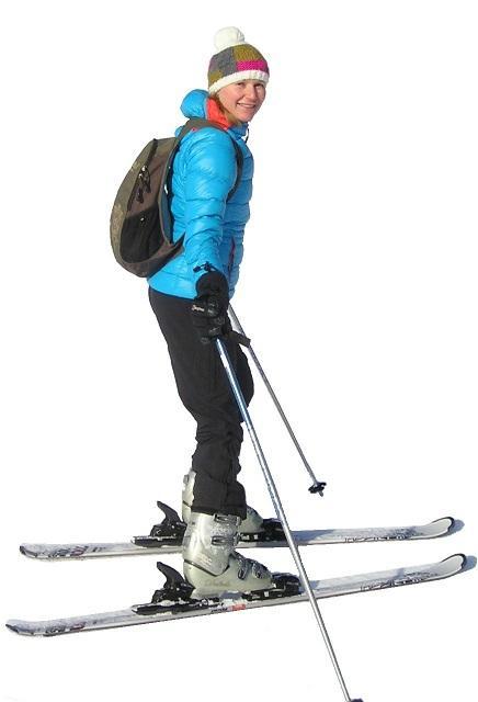 Hyvä hiihtotekniikka on tärkeää